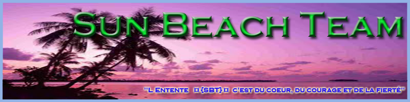SUN BEACH TEAM Index du Forum