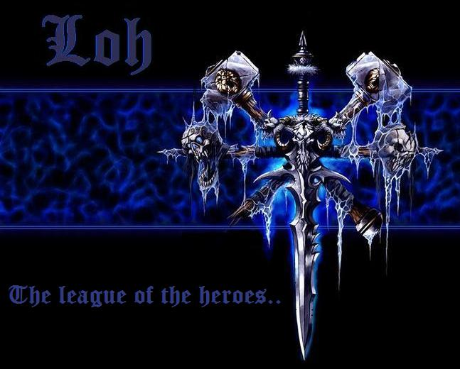 The League Of the Heroes Index du Forum