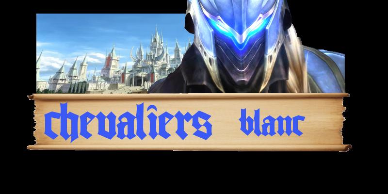 l'alliance des chevaliers blanc Index du Forum