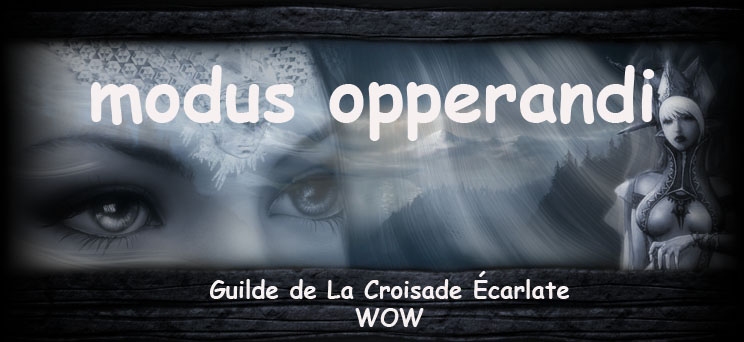 modus opperandi Index du Forum