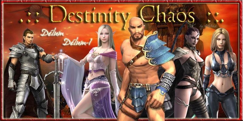 Destinity Chaos : ici respect et bonne humeur sont de rigueur ! Index du Forum
