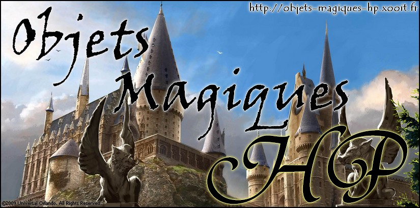 creation objets magiques Index du Forum