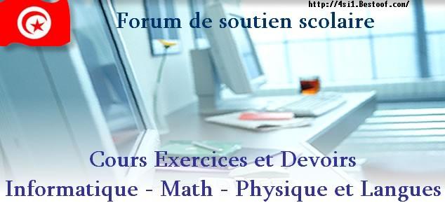 Bac Tunisie Algorithmique et programmation : BAC INFORMATIQUE En Tunisie  forum informatique Tunisie Index du Forum