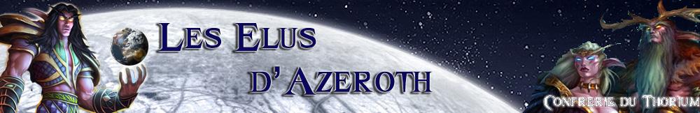 Les Elus d'Azeroth Index du Forum