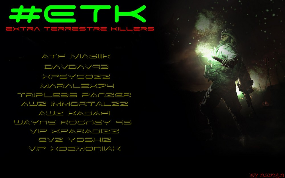(¯`·._.Extra Terrestre Killers._.·´¯) Index du Forum
